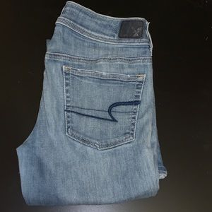 American Eagle Kick Boot Jeans Size 10R